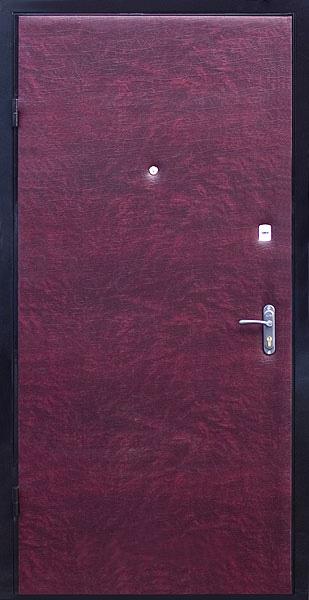 входная дверь из кожзама
