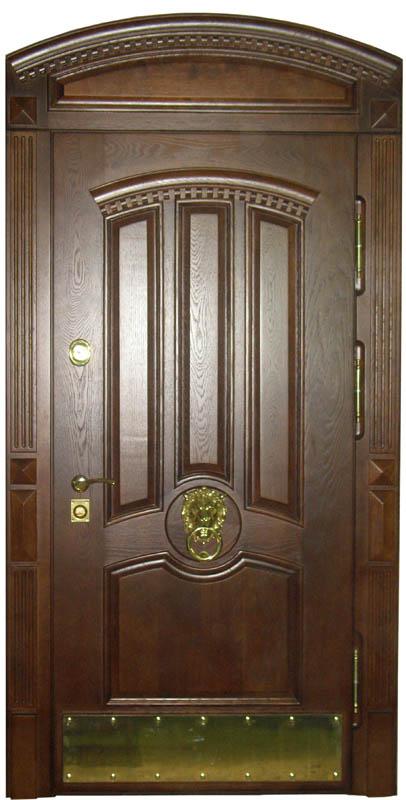 элитные металлические двери массив