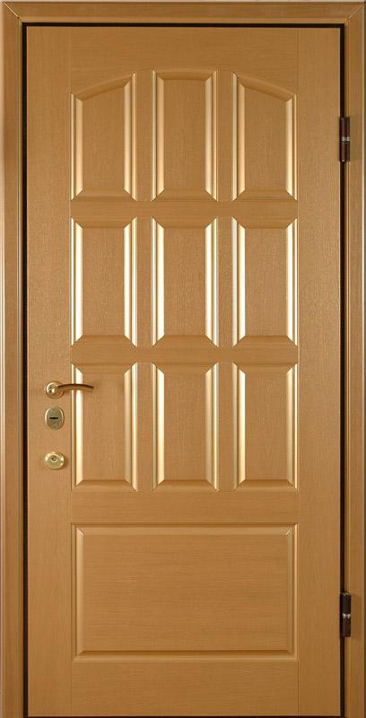 двери металлические с отделкой филенчатой мдф